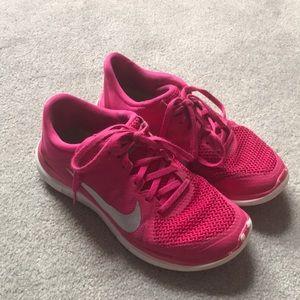 Nike Free Pink Sneakers